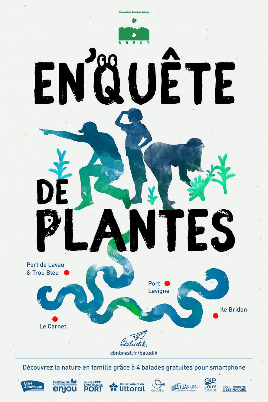 Affiche En'quête de plantes