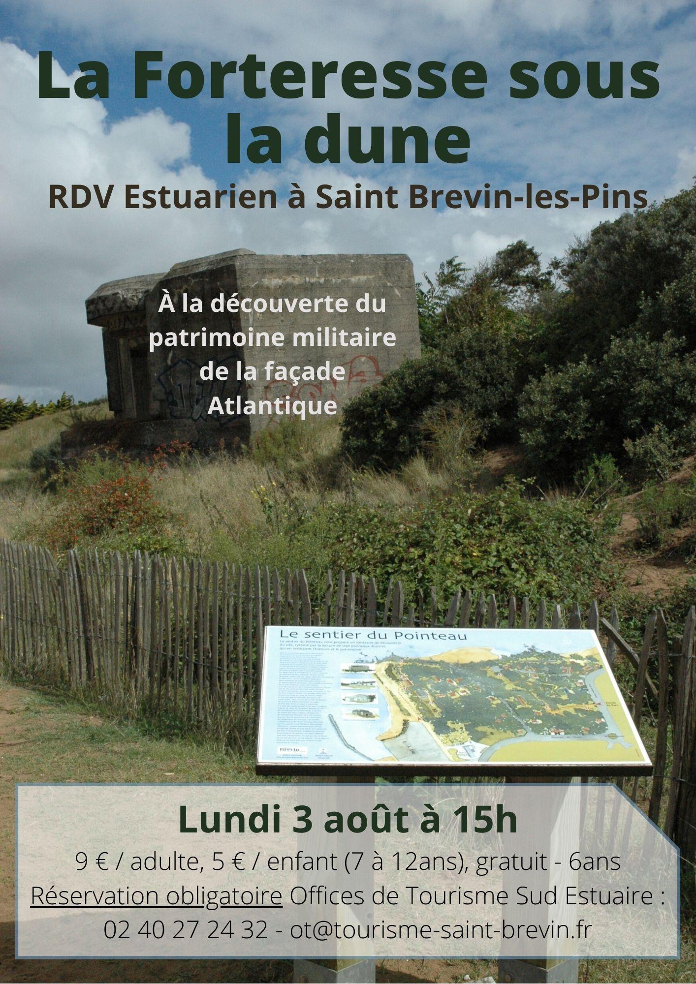 RDV Estuarien aout 2020 - Forteresse sous la dune - ST BREVIN