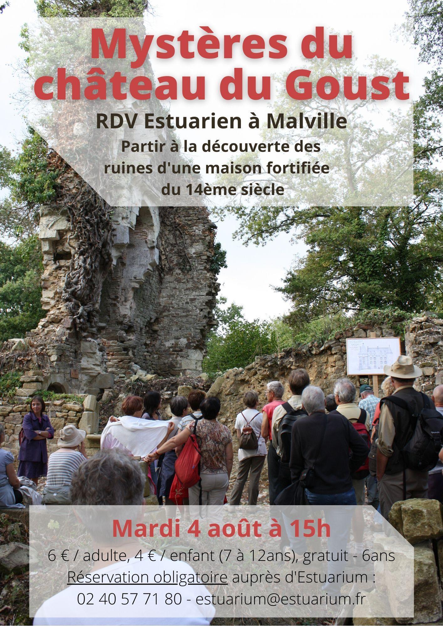 RDV Estuarien aout 2020 - Mystère chateau Goust - MALVILLE