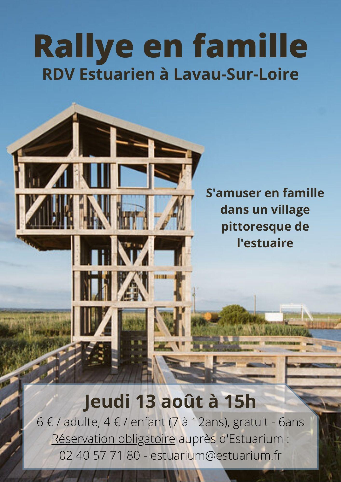 RDV Estuarien aout 2020 - Rallye en famille - LAVAU