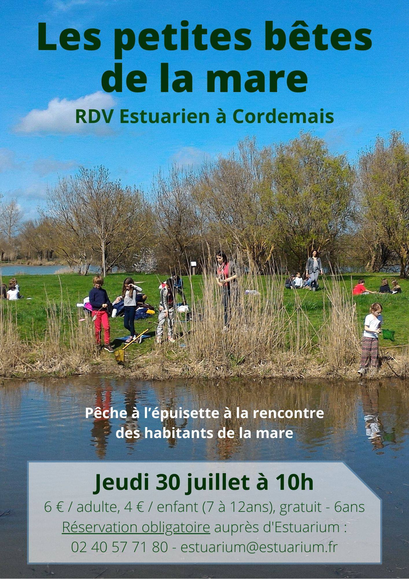 RDV Estuarien juillet 2020 - Mare - CORDEMAIS