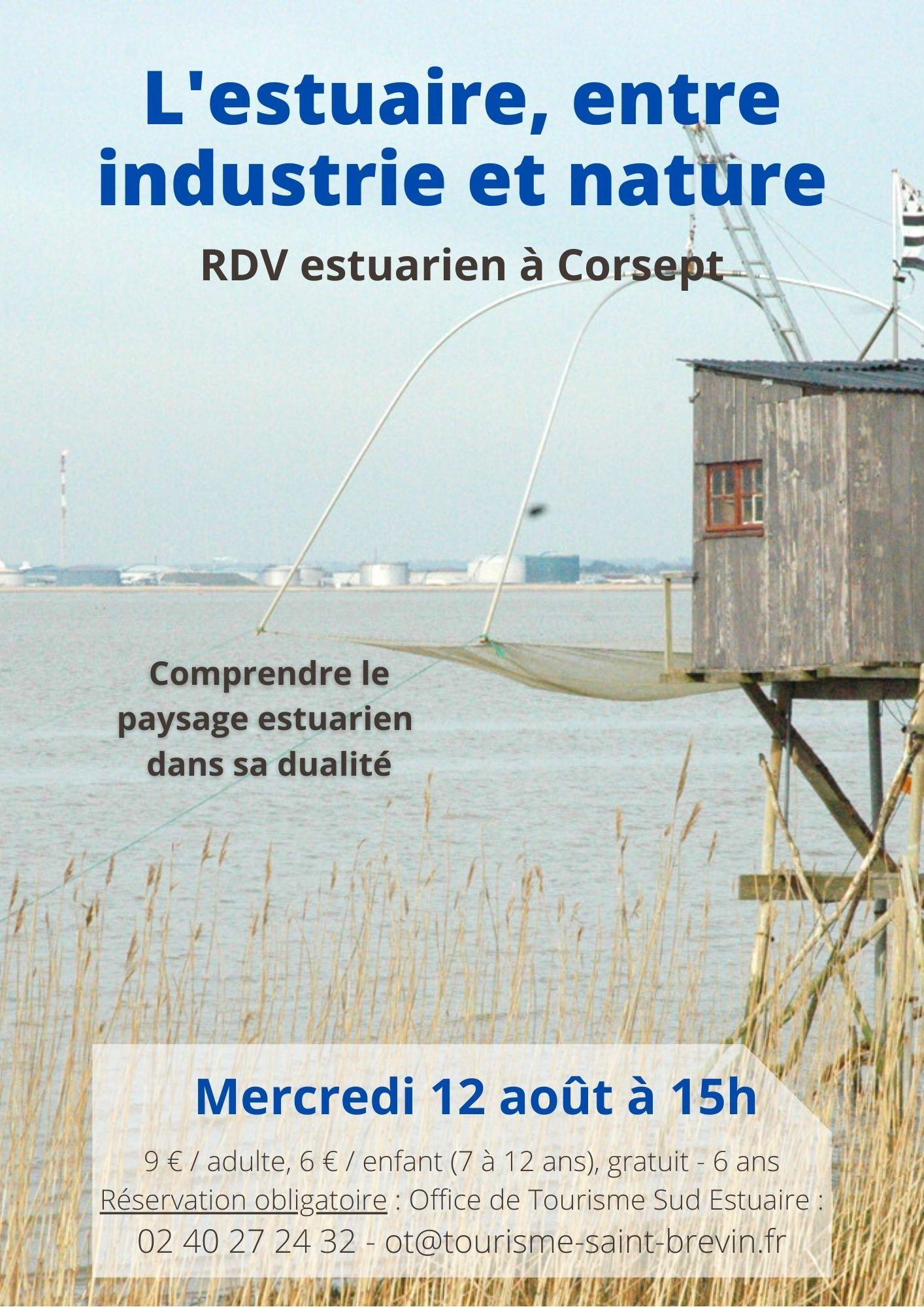 RDV estuariens août 2020 - Estuaire entre indus et nature - CORSEPT