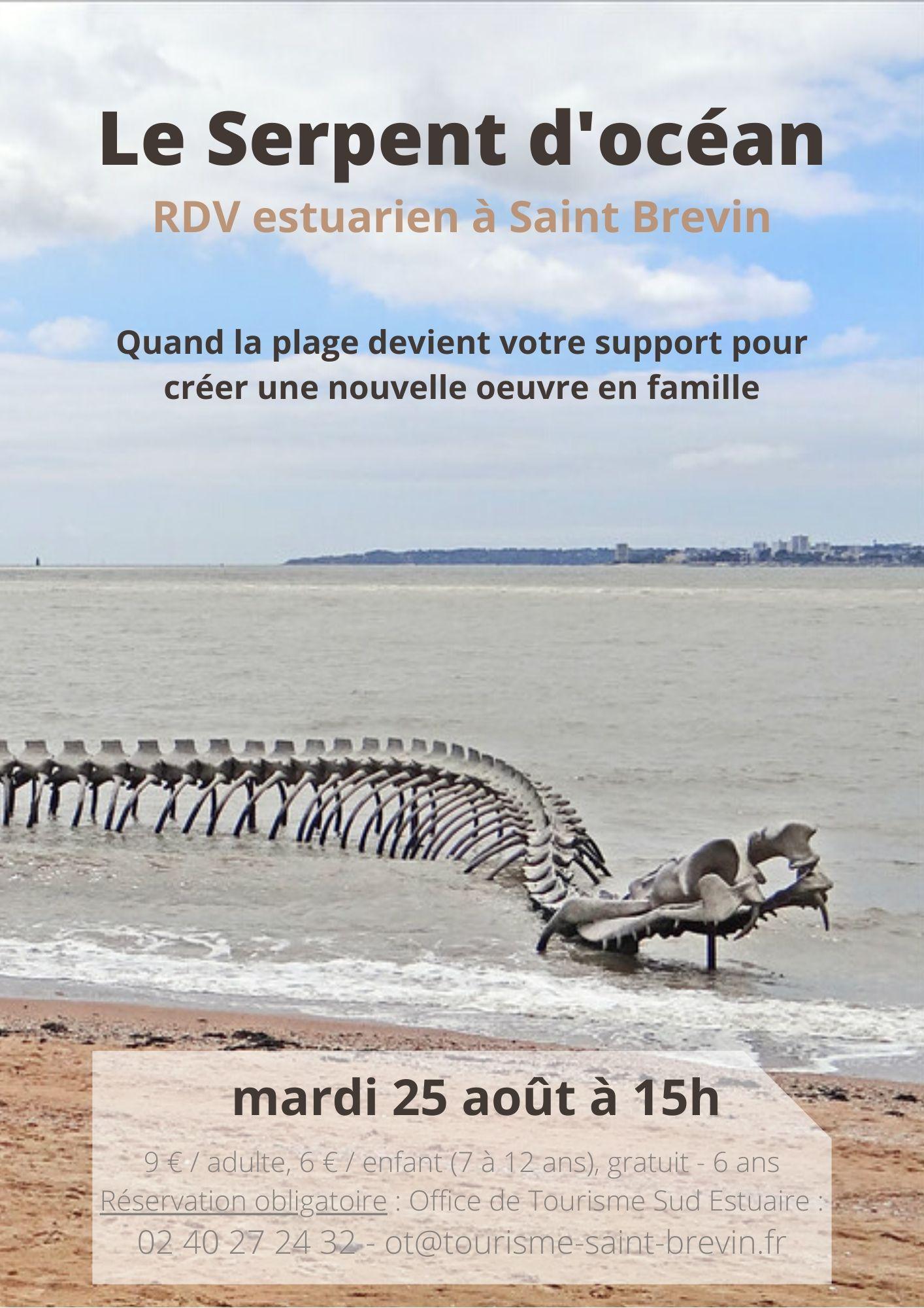 RDV estuariens août 2020 - Le Serpent d'océan - St Brevin